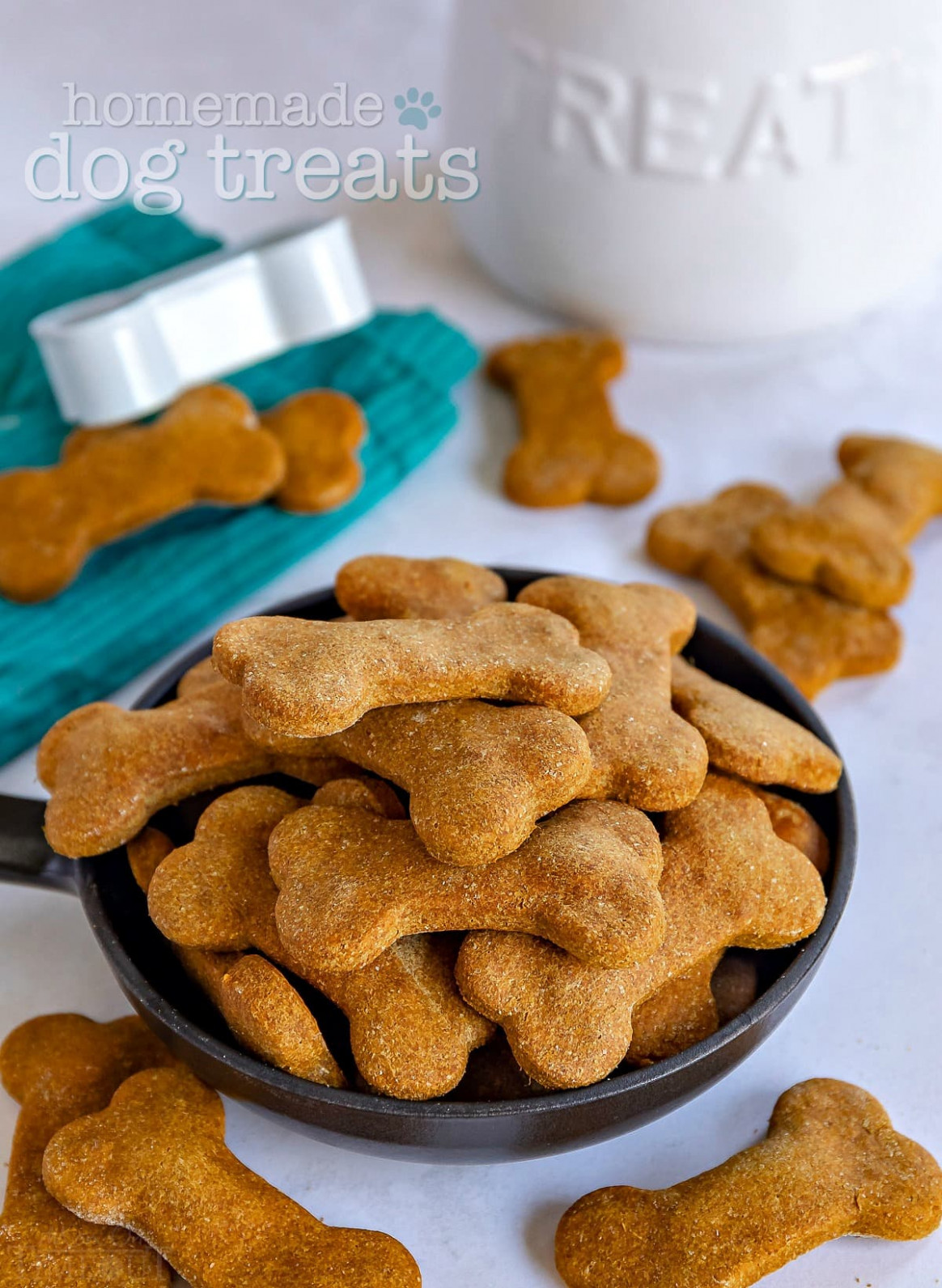Homemade Dog Treats - recipes to make hypoallergenic dog food