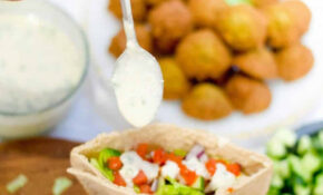 Homemade Falafel Recipe And Gyro Recipe – An Unblurred Lady – Falafel Recipes Dinner