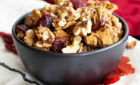 Homemade Grain Free Cranberry Walnut Granola Recipe (Paleo ..