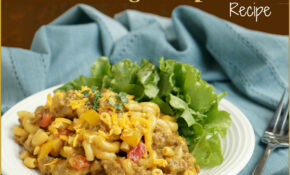 Homemade Hamburger Helper: Cheeseburger Macaroni Skillet Recipe – Dinner Recipes Hamburger