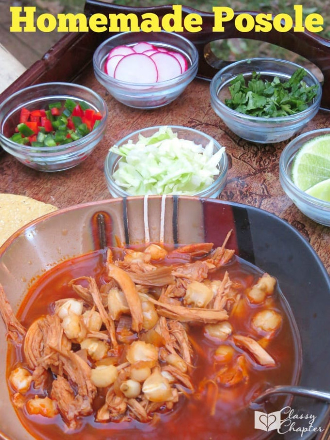 Homemade Posole Recipe - recipes mexican food traditional