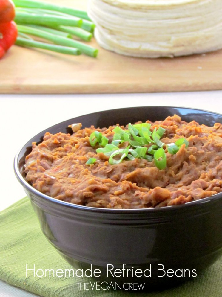 Homemade Refried Beans ~ I have no idea why I love refried ..