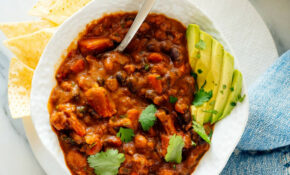 Homemade Vegetarian Chili – Cookie And Kate – Vegan Party Food Recipes