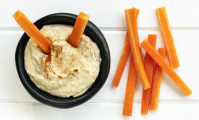 Hommus And Vegetable Sticks – Growing Good Habits – Healthy Recipes Queensland Government