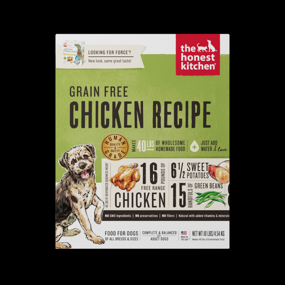 Honest Kitchen Chicken Recipe Dehydrated Raw Dog Food - Raw Dog Food Recipes