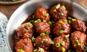 Honey And Garlic Chicken Meatballs (Instant Pot Or Slow Cooker) – Slimming World Recipes Chicken