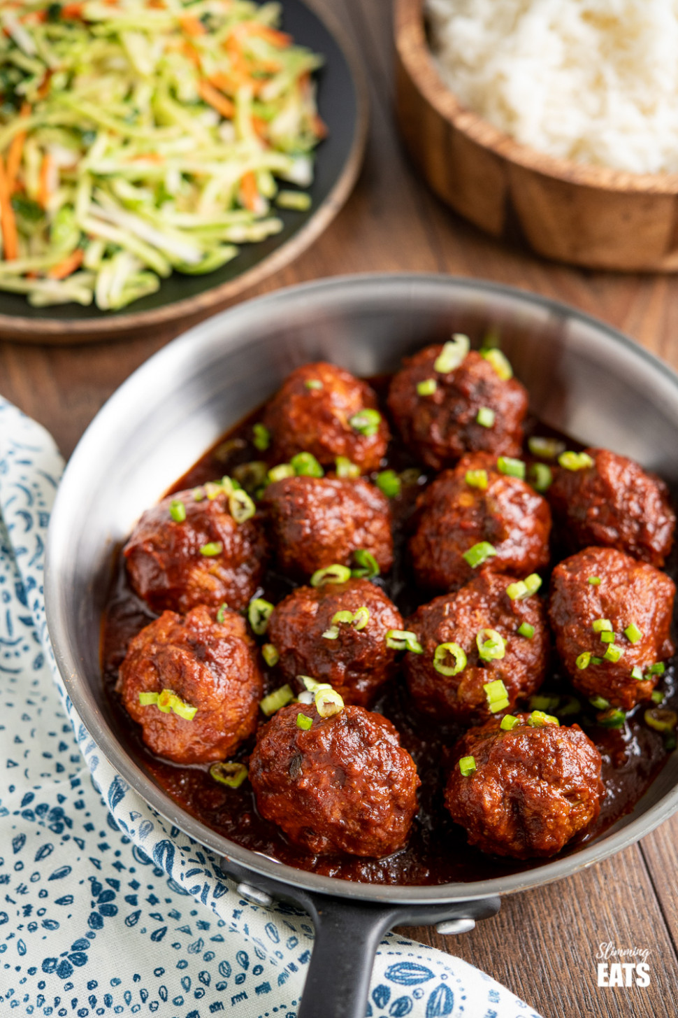 Honey and Garlic Chicken Meatballs (Instant Pot or Slow Cooker) - slimming world recipes chicken