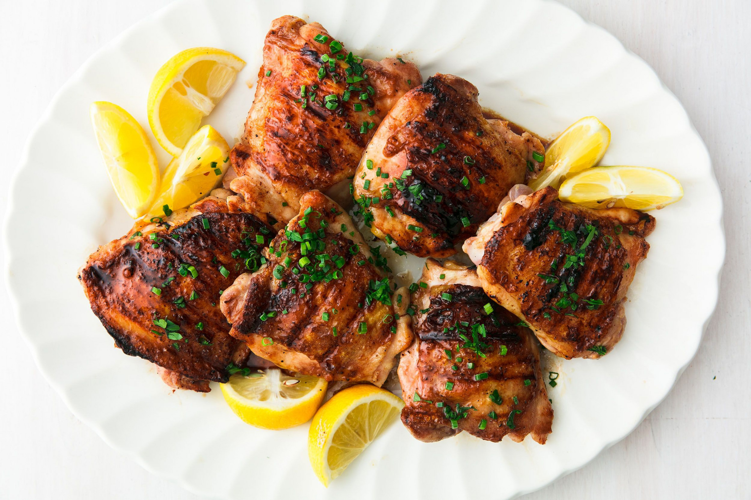 Honey Balsamic Grilled Chicken Thighs - recipes grilled chicken thighs