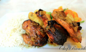 Honey Curry Chicken Oven Curry Baked Chicken Recipes ..