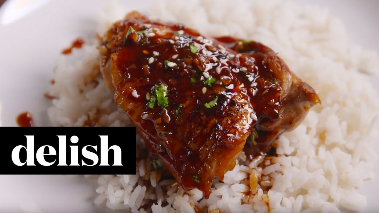 Honey Garlic Chicken | Delish - chicken recipes delish
