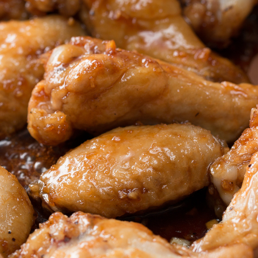 Honey Garlic Chicken Wings Recipe by Tasty - chicken recipes honey