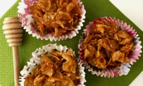 Honey Joys - Cornflake Cupcakes - Peter's Food Adventures