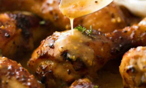 Honey Mustard Baked Chicken Drumsticks | RecipeTin Eats – Chicken Recipes Honey Mustard