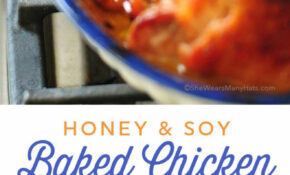 Honey Soy Baked Chicken Thighs Recipe – Chicken Recipes Bone In