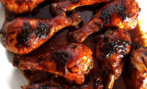 Honey Soy BBQ Baked Chicken Legs – Chicken Recipes Honey
