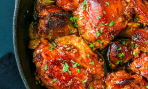 Honey Soy Chicken Thighs Recipe – Munchkin Time – Recipes Of Chicken Thighs