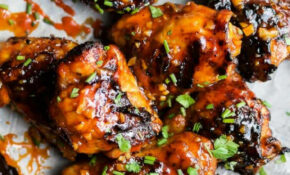 Honey Sriracha Grilled Chicken Thighs | Easy Healthy ..