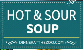 Hot and Sour Soup - Dinner at the Zoo