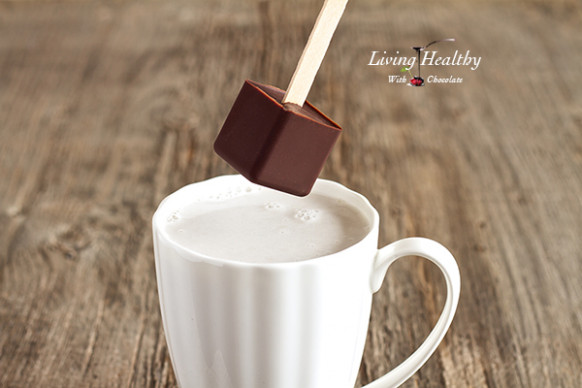 Hot Chocolate on a Stick (paleo, dairy, refined sugar free ..