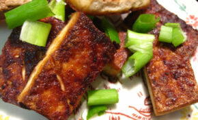 Hot Pan Crispy Tofu // My Ma Is So Good At This – The Best Vegetarian Recipes