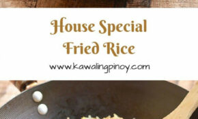 House Special Fried Rice – Fried Rice Recipes Chicken