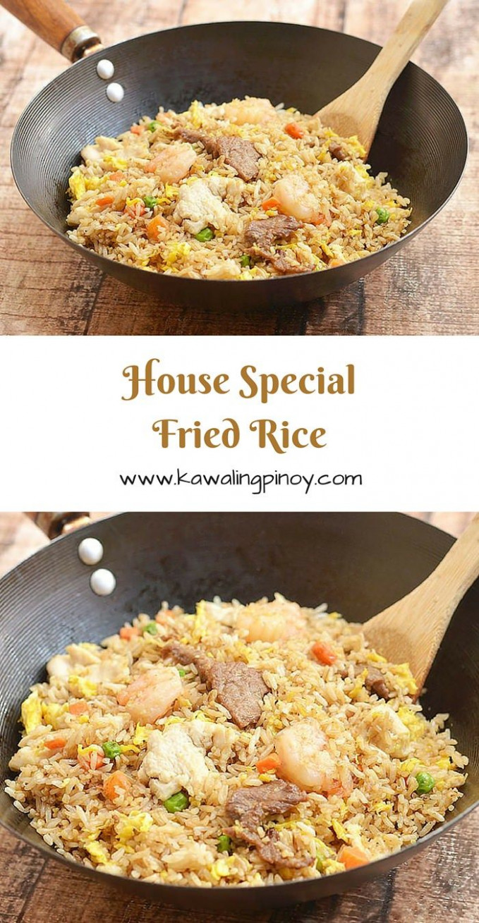 House Special Fried Rice - fried rice recipes chicken
