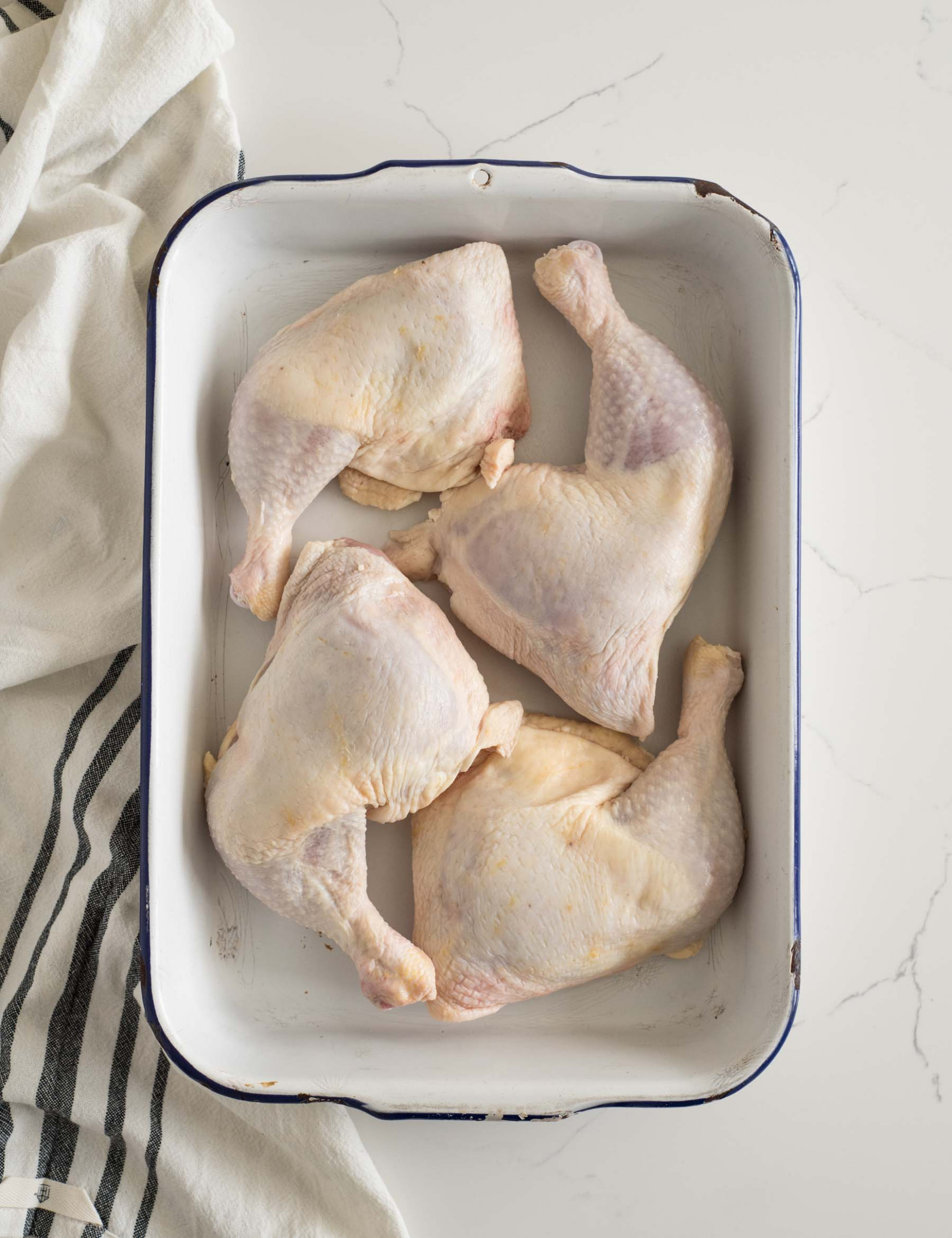 How Long to Bake Chicken Leg Quarters | Bless This Mess - chicken recipes legs and thighs