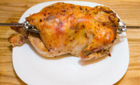 How To Cook A Chicken In A George Foreman Rotisserie: 11 Steps – George Foreman Recipes Chicken