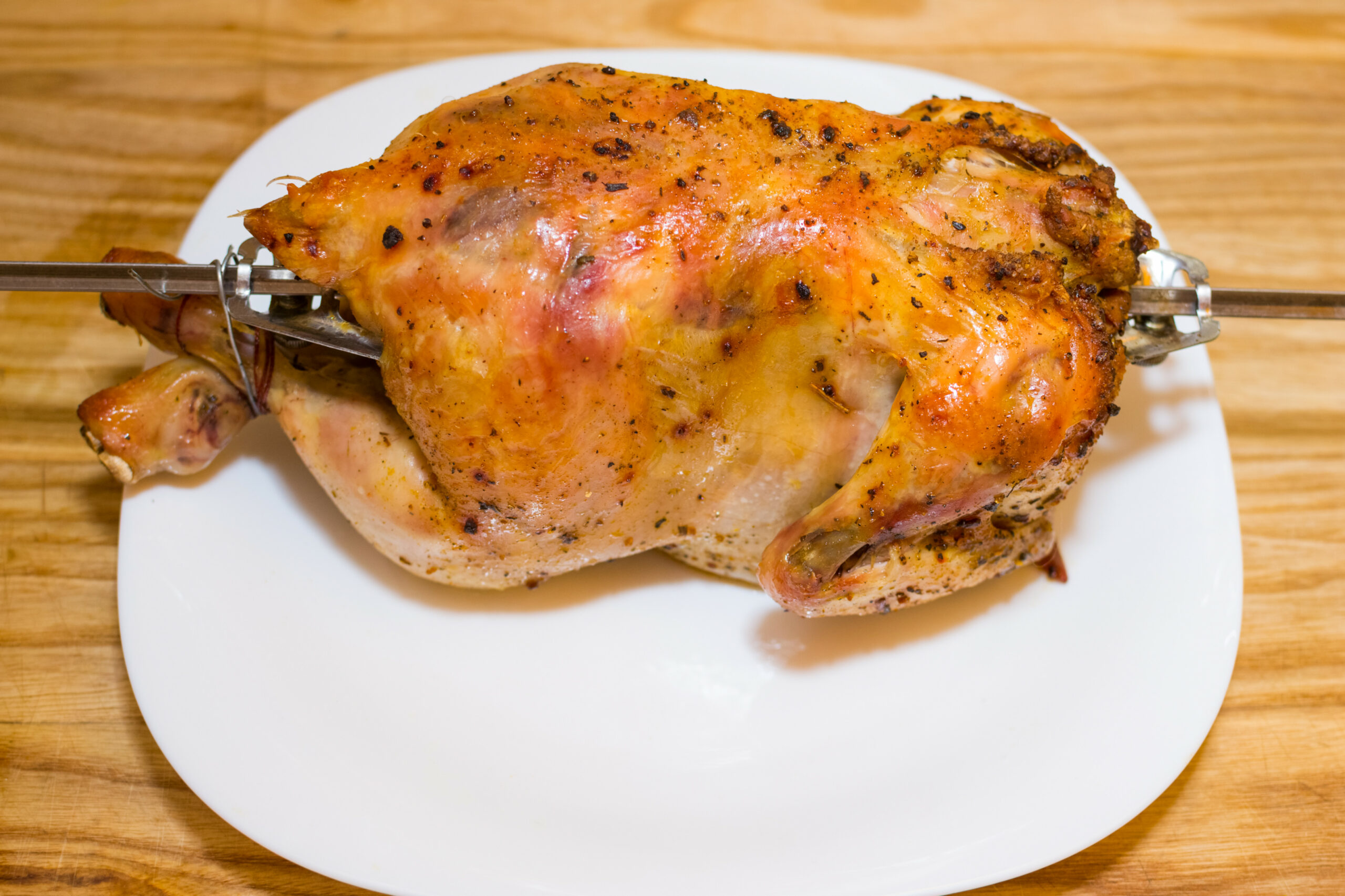 How to Cook a Chicken in a George Foreman Rotisserie: 11 Steps - george foreman recipes chicken