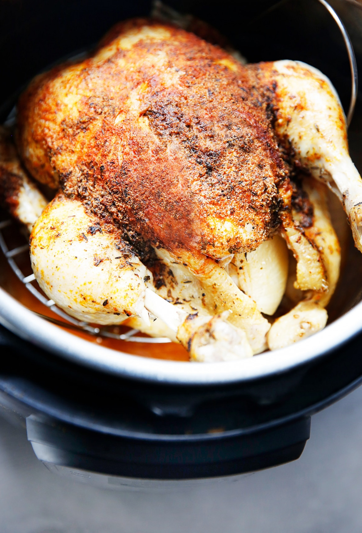 How to Cook a Whole Chicken in the Instant Pot - chicken recipes james martin
