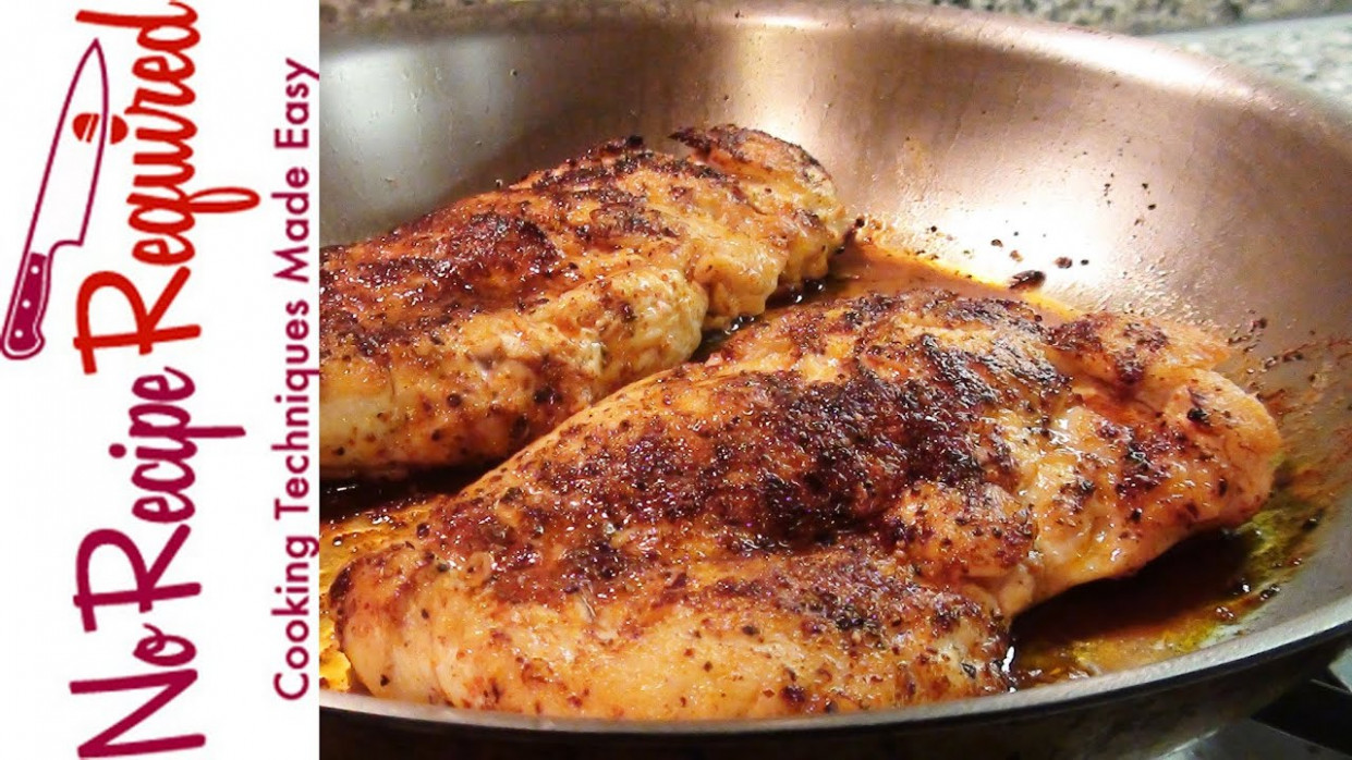 How to Cook Boneless Chicken Breasts - NoRecipeRequired