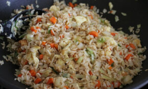 How To Cook Brown Rice – Vegetable Fried Rice And Kimchi ..