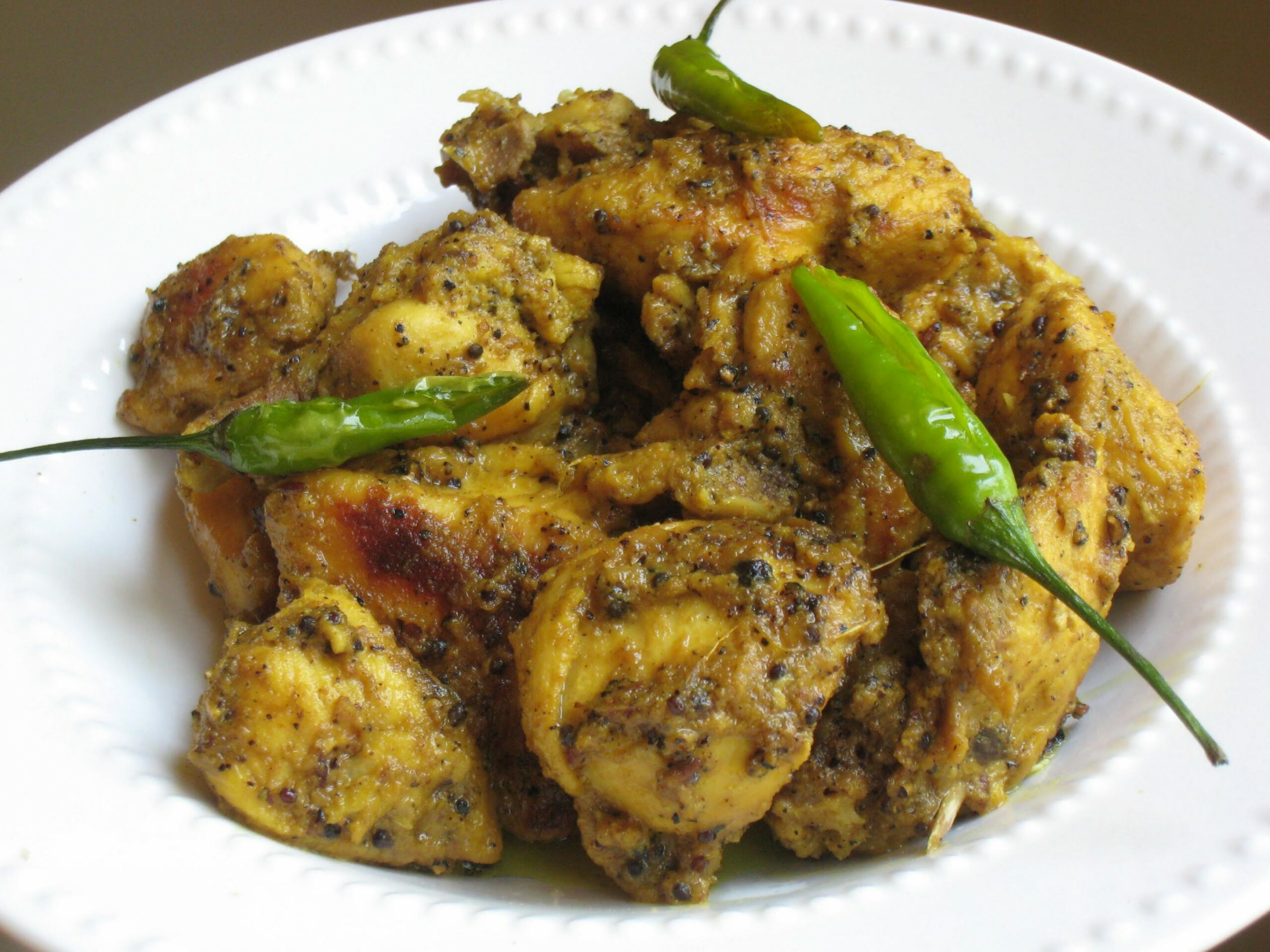 How to cook Chicken Kali Mirch with Lemon? - Simmi Da Kitchen - food junction recipes