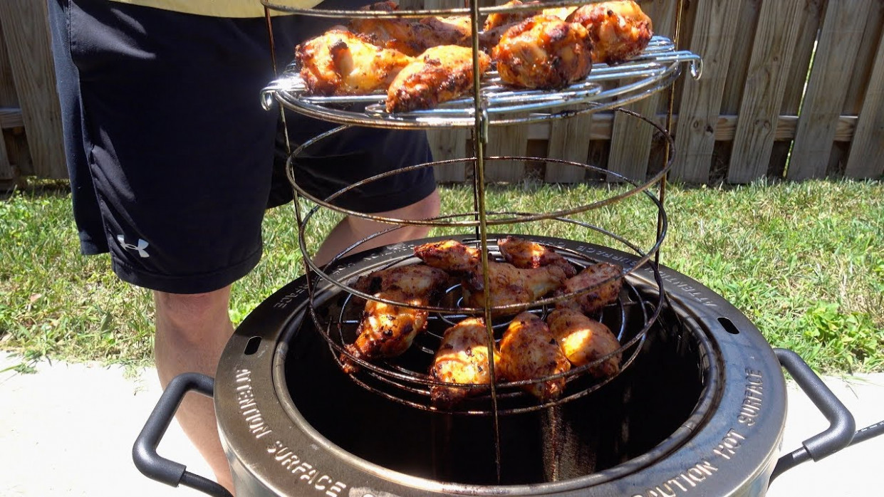 How To Cook Chicken Wings In Char Broil Big Easy Oilless ..