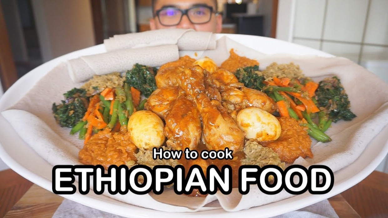 How to cook ETHIOPIAN FOOD - YouTube - ethiopian food recipes youtube