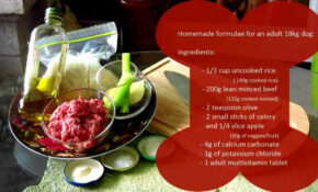 How To Cook For Your Dog Basc Food Recpe Bowen Hlls Praters ..