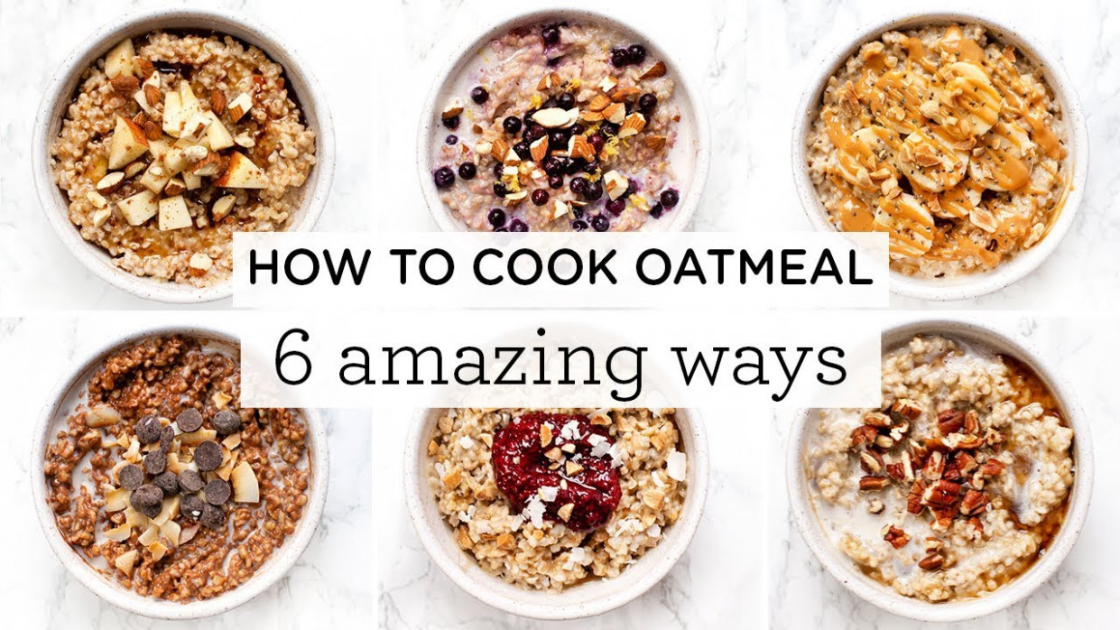 HOW TO COOK OATMEAL ‣‣ 13 Amazing Steel Cut Oatmeal Recipes - oatmeal recipes dinner