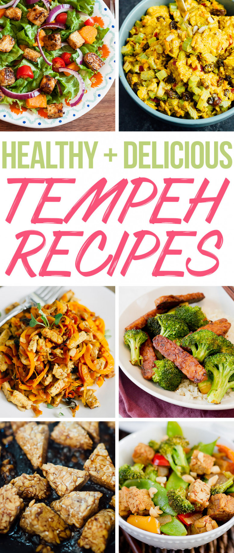 How To Cook Tempeh | Tempeh Recipes You'll Love - Recipes That Are Healthy And Easy To Make
