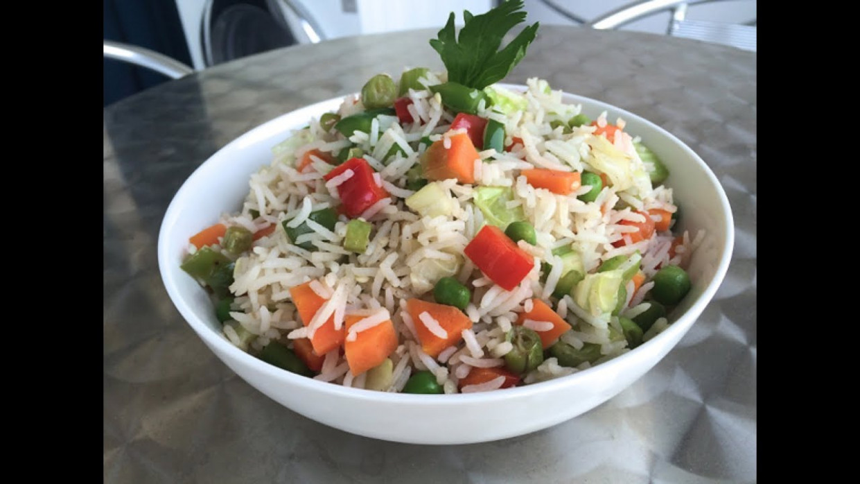How to cook VEGETABLE FRIED RICE | Fried Rice Recipe ..