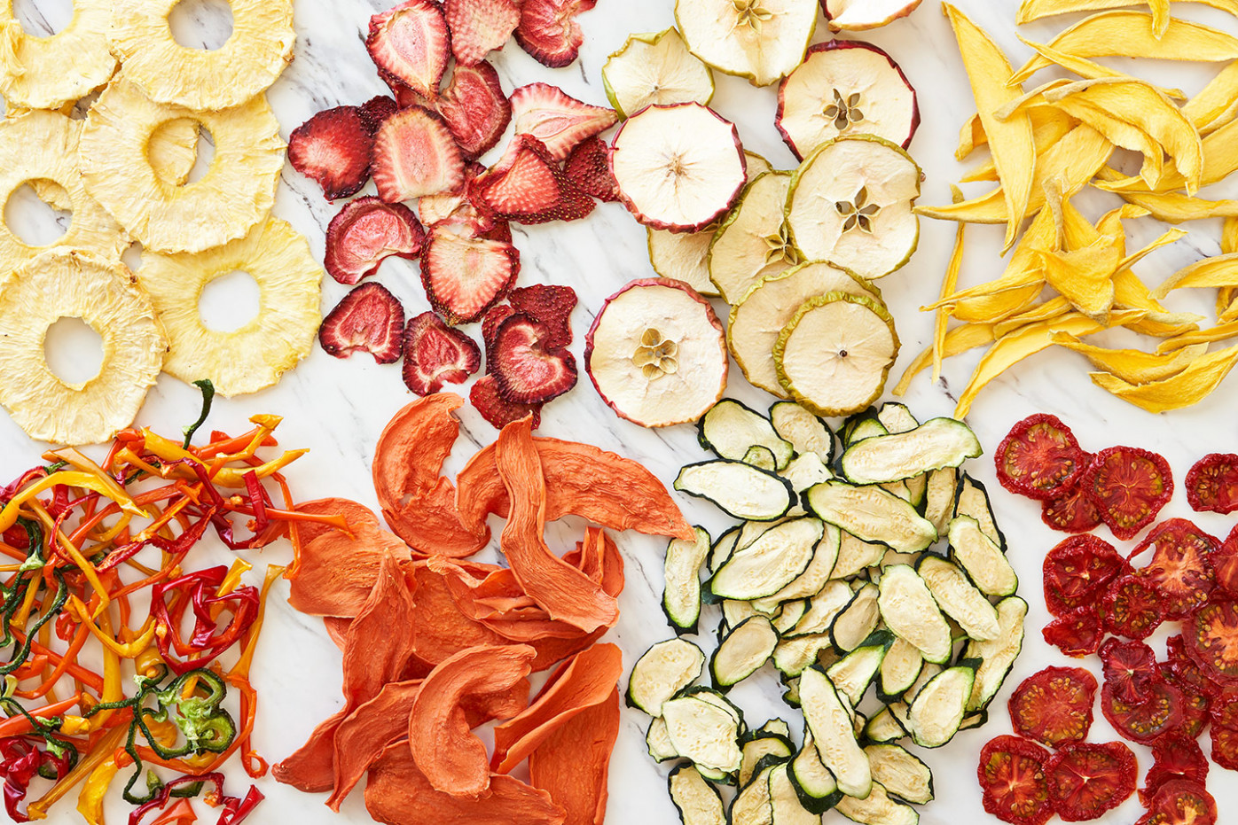 How to Dehydrate Fruits and Vegetables for a Healthy Snack ..