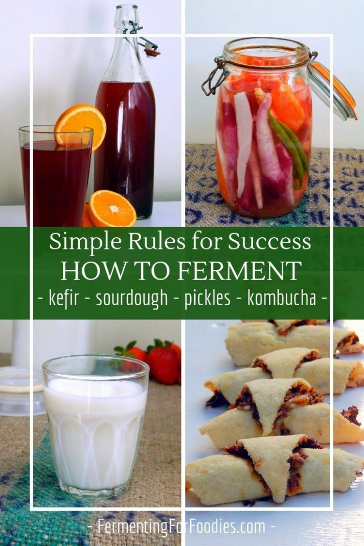 How to ferment: Basic Rules for Success | Fermented Food ..