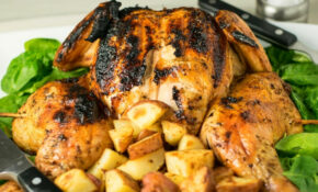 How To Grill A Whole Chicken Over Charcoal – Fox Valley Foodie – Recipes With Whole Chicken