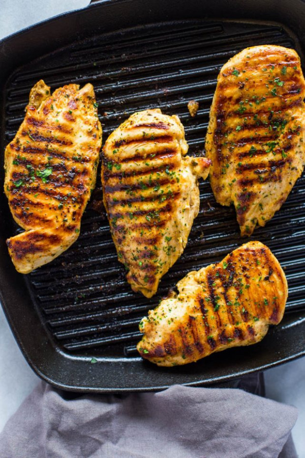 How to Grill Chicken on Stove-Top (Easy Grill Pan Method ..