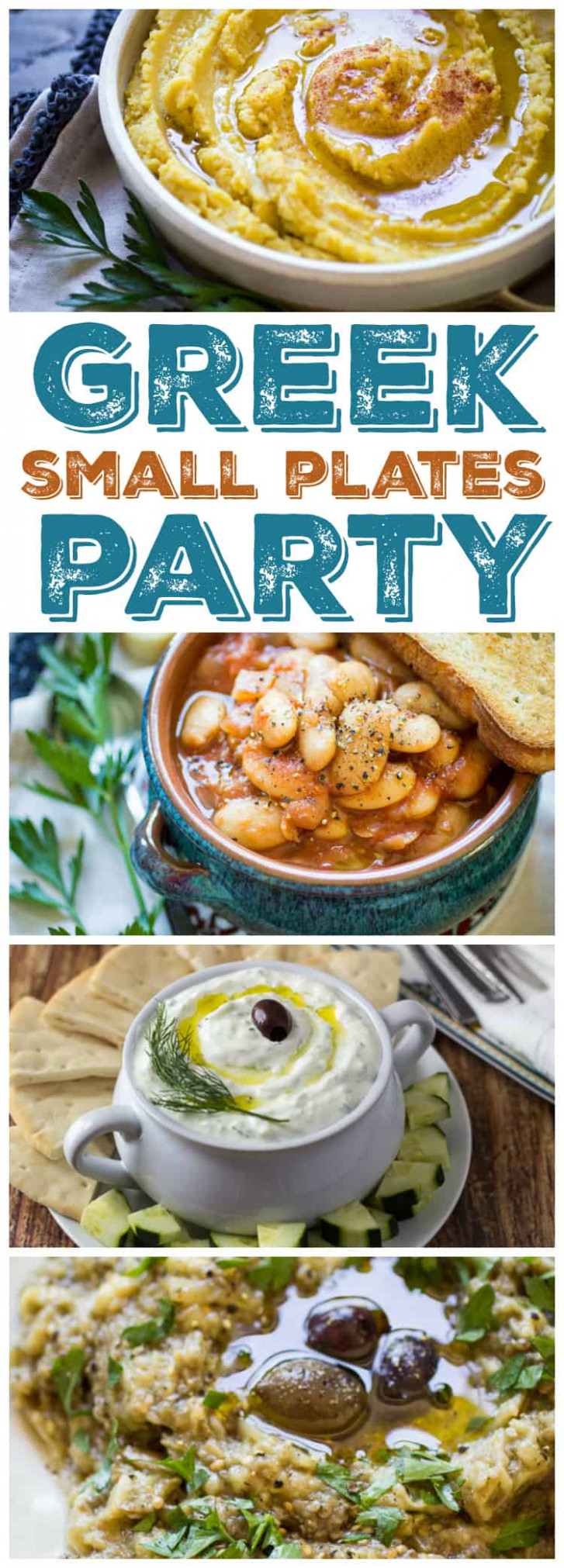 How to Host a Greek Meze Party - The Wanderlust Kitchen - recipes greek dinner party