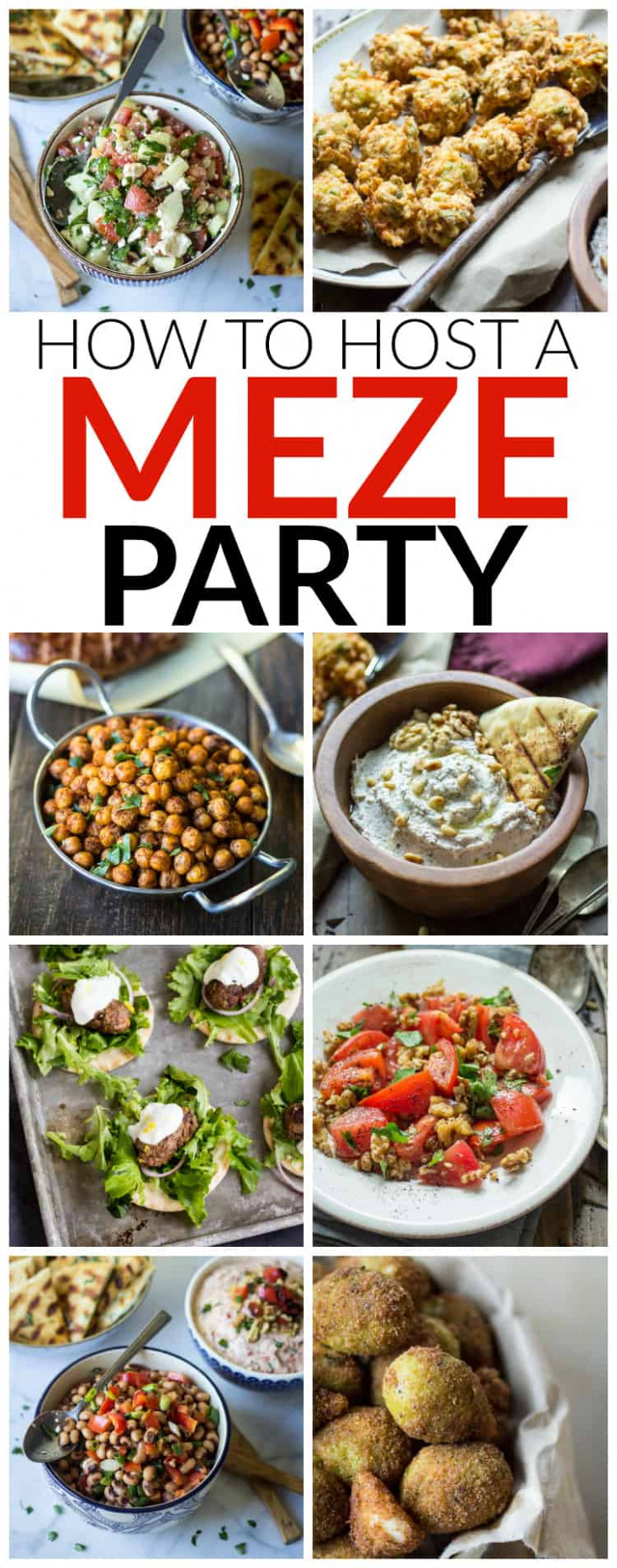How To Host A Turkish Meze Party - The Wanderlust Kitchen - Turkish Recipes Dinner