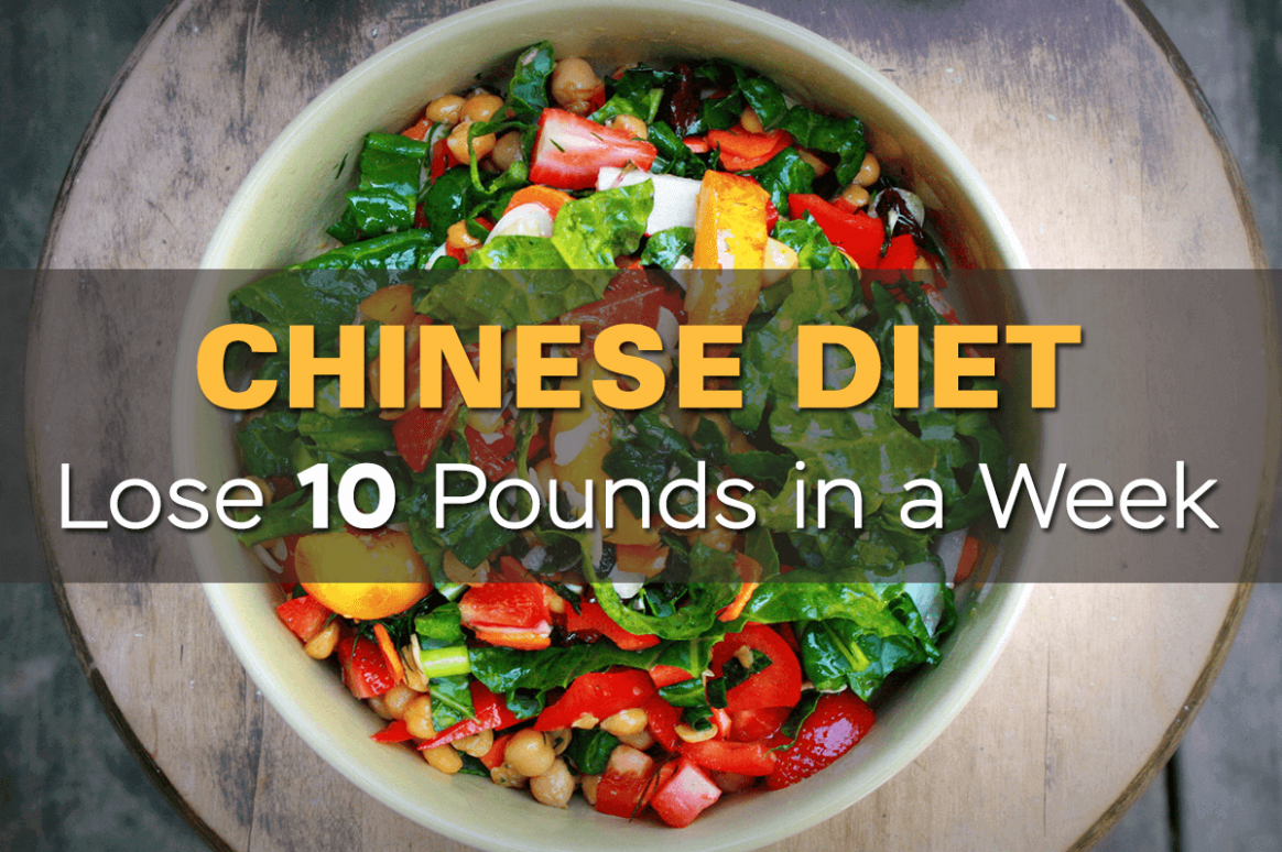 How To Lose 10 Pounds In A Week: Chinese Diet • - Healthy Recipes Lose Weight