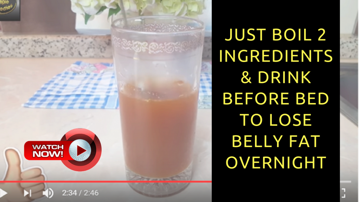 How To Lose Belly Fat Overnight Drink Recipe — Neale Bergman - food recipes to lose belly fat