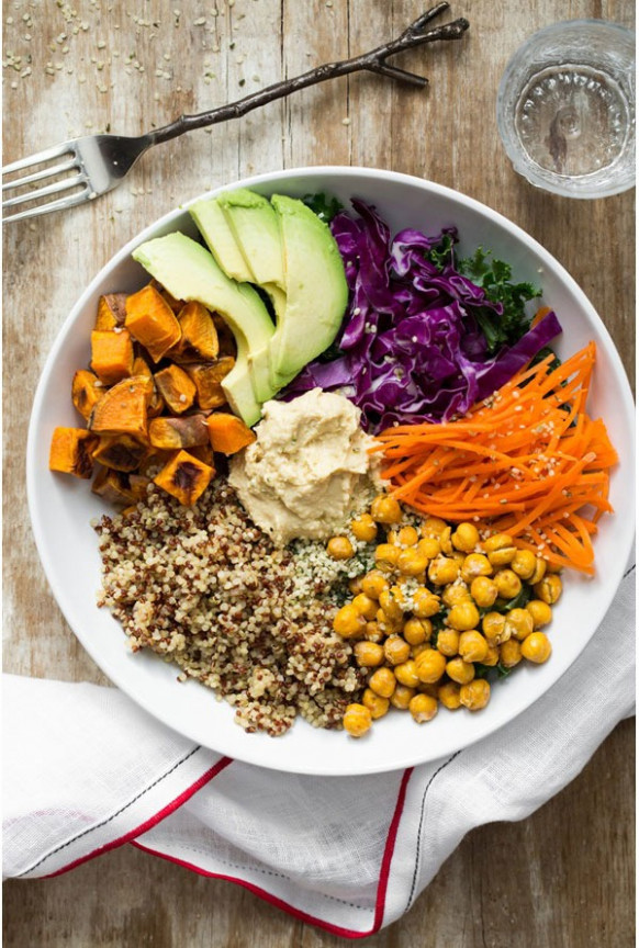 How to Make a Buddha Bowl for Weight Loss | Eat This Not That - recipes vegetarian bowls