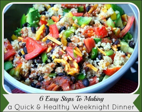 How to Make A Quick Healthy Dinner - dinner recipes quick healthy