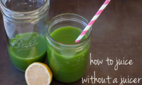 "How To Make A ""mean Green Juice"" Without A Juicer – Marin .."
